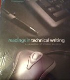 Readings in Techinical Writing A Collection of Student Projects 11th (Revised) edition cover
