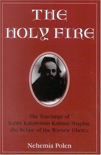 Holy Fire The Teachings of Rabbi Kalonymus Kalman Shapira, the Rebbe of the Warsaw Ghetto N/A 9780765760265 Front Cover