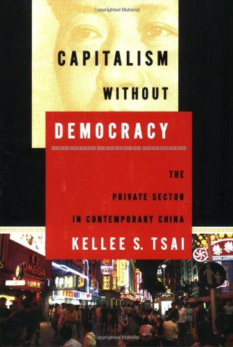 Capitalism Without Democracy The Private Sector in Contemporary China  2007 edition cover