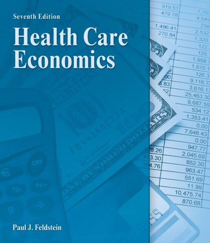 Health Care Economics  7th 2012 edition cover