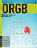 Orgb 4 With Coursemate Printed Access Card:   2014 edition cover