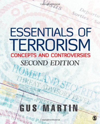 Essentials of Terrorism Concepts and Controversies 2nd 2011 edition cover