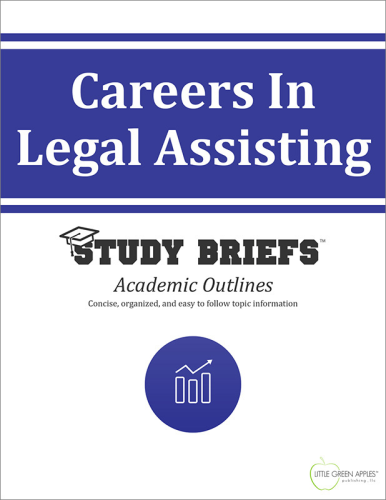 Careers in Legal Assisting   2015 9781634261265 Front Cover