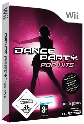 Dance Party Pop Hits (Nintendo Wii) Nintendo Wii artwork