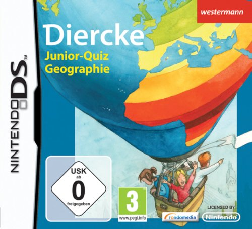 Diercke Junior-quiz Geographie (In German) Nintendo DS artwork