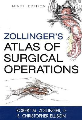 Zollinger's Atlas of Surgical Operations  9th 2011 edition cover