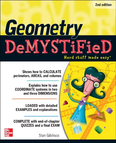 Geometry - DeMYSTiFieD  2nd 2011 9780071756266 Front Cover