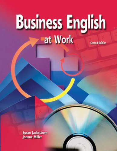 Business English at Work Student Text/Premium OLC Content Package  3rd 2007 (Revised) edition cover