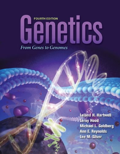 Genetics From Genes to Genomes 4th 2011 edition cover