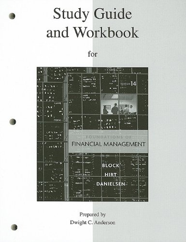 Foundations of Financial Management  14th 2011 9780077316266 Front Cover