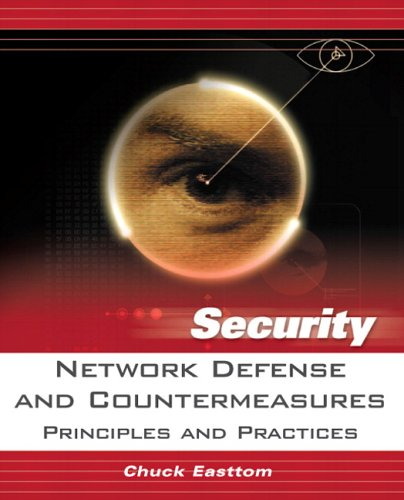 Network Defense and Countermeasures Principles and Practices  2006 edition cover