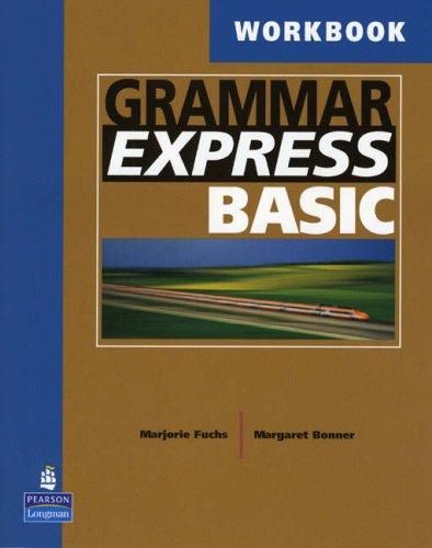 Grammar Express Basic Workbook   2004 edition cover