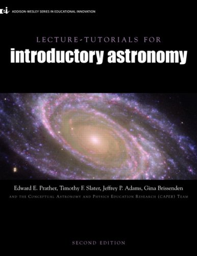 Lecture Tutorials for Introductory Astronomy  2nd 2008 edition cover
