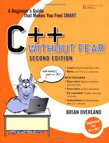 C++ Without Fear A Beginner's Guide That Makes You Feel Smart 2nd 2011 (Revised) edition cover
