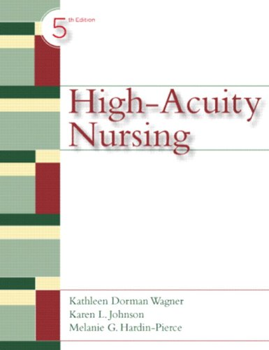 High Acuity Nursing  5th 2010 edition cover