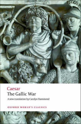 Gallic War Seven Commentaries on the Gallic War with an Eighth Commentary by Aulus Hirtius  2008 edition cover