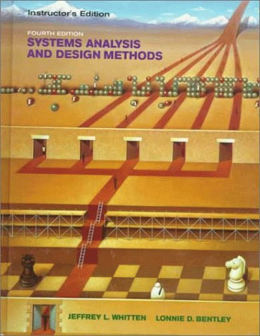 Systems Analysis and Design 4th 1998 (Teachers Edition, Instructors Manual, etc.) 9780256238266 Front Cover
