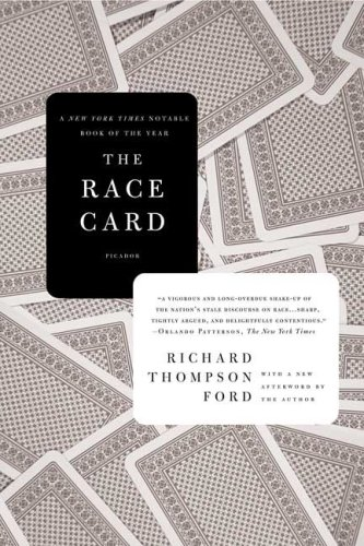 Race Card How Bluffing about Bias Makes Race Relations Worse  2009 edition cover
