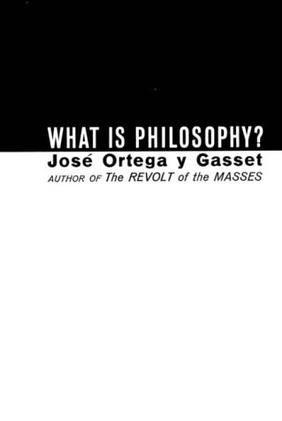 What Is Philosophy?   1964 edition cover