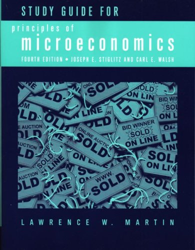 Principles of Microeconomics  4th 2006 (Guide (Pupil's)) edition cover
