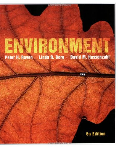 Environment  6th 2008 edition cover