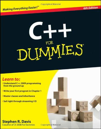 C++ for Dummies  6th 2009 edition cover