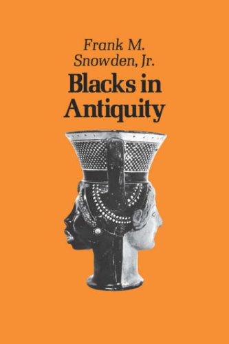 Blacks in Antiquity Ethiopians in the Greco-Roman Experience  1970 edition cover