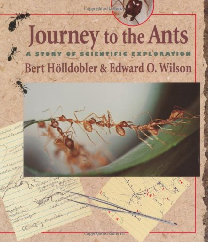 Journey to the Ants A Story of Scientific Exploration  1994 edition cover