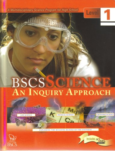 BSCS Science - An Inquiry Approach, Level 1  N/A edition cover
