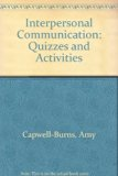 Interpersonal Communication Supplement Quizzes and Activities 2nd (Revised) 9780757562266 Front Cover