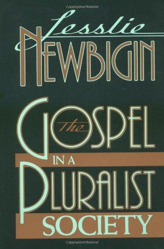 Gospel in a Pluralist Society  1989 edition cover