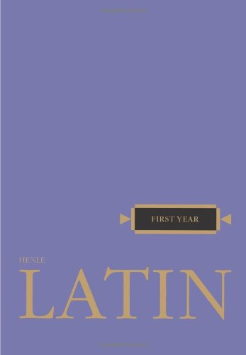 First Year Latin  N/A edition cover