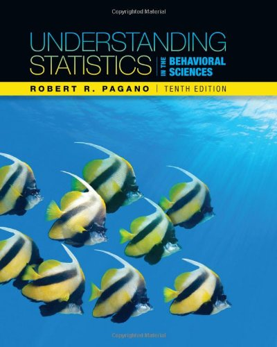Understanding Statistics in the Behavioral Sciences  10th 2013 9781111837266 Front Cover
