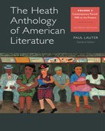 Heath Anthology of American Literature Volume E 7th 2014 edition cover