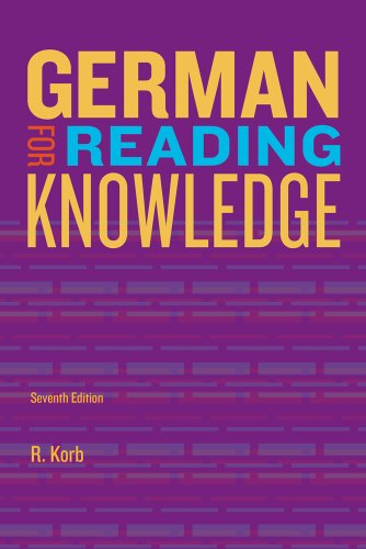 German for Reading Knowledge  7th 2014 edition cover