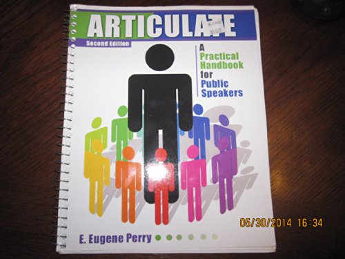 Articulate A Practical Handbook for Public Speakers 3rd (Revised) edition cover