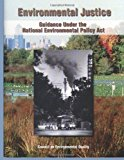 Environmental Justice Guidance under the National Environmental Policy Act N/A 9781493623266 Front Cover