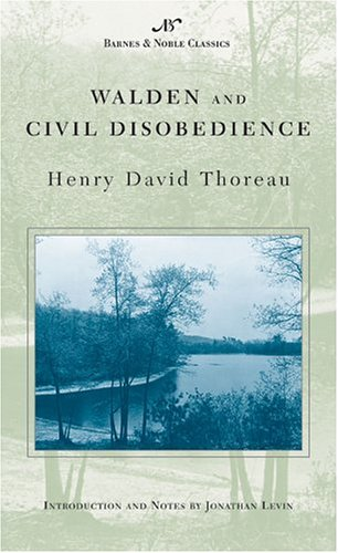 Walden and Civil Disobedience   2003 edition cover
