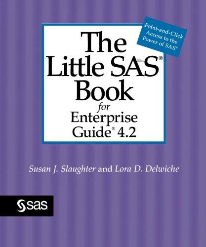 Little SAS Book for Enterprise Guide 4. 2   2010 edition cover