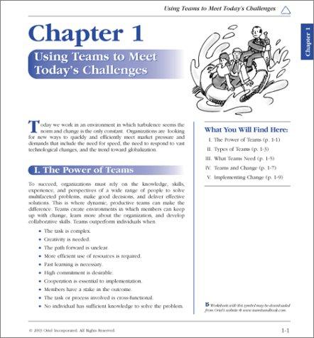 Team Handbook  3rd 2003 (Revised) edition cover