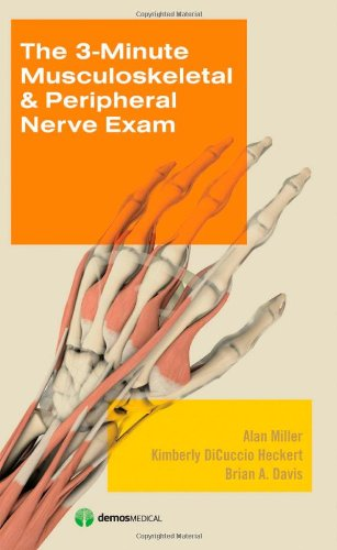 3-Minute Musculoskeletal and Peripheral Nerve Exam   2009 9781933864266 Front Cover