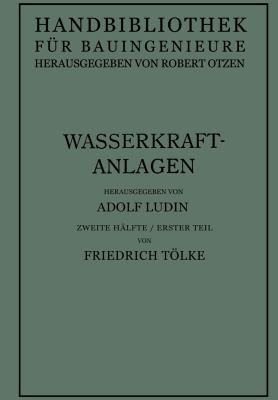 Wasserkraftanlagen   1938 edition cover