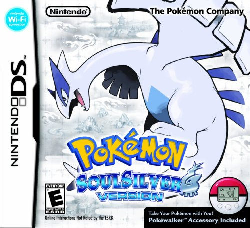 Pokemon SoulSilver Version Nintendo DS artwork