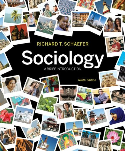 Sociology A Brief Introduction 9th 2011 edition cover