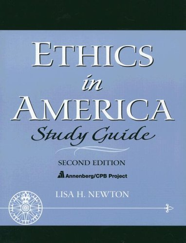 Ethics in America  2nd 2004 9780131826267 Front Cover