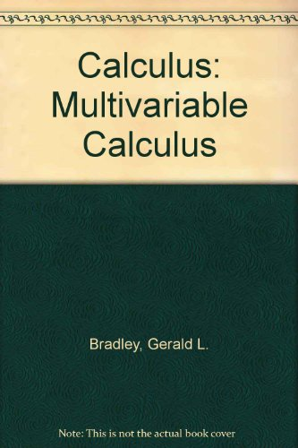 Multivariable Calculus   1995 9780132072267 Front Cover