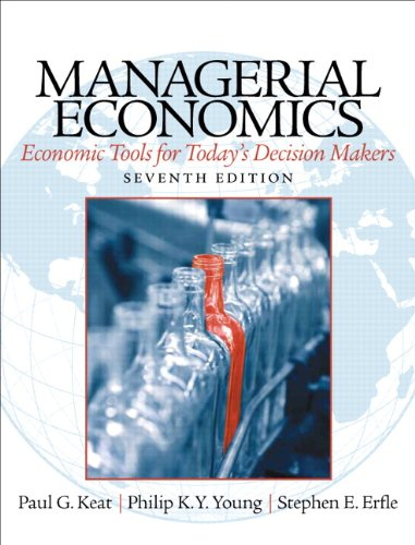Managerial Economics:   2013 edition cover
