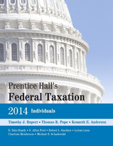 Prentice Hall's Federal Taxation 2014 Individuals + New Myaccountinglab With Pearson Etext Access Card Package:   2013 9780133455267 Front Cover