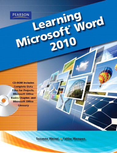 Learning Microsoft Office Word 2010, Student Edition   2012 (Revised) 9780135112267 Front Cover