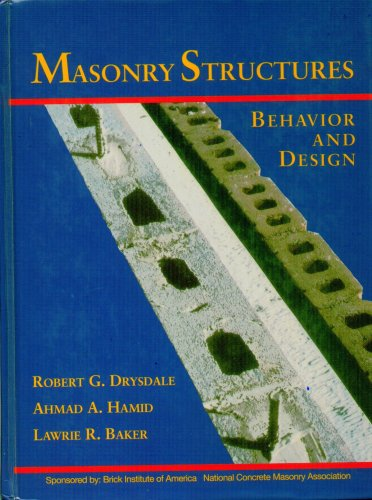 Masonry Structures Behavior and Design  1994 9780135620267 Front Cover
